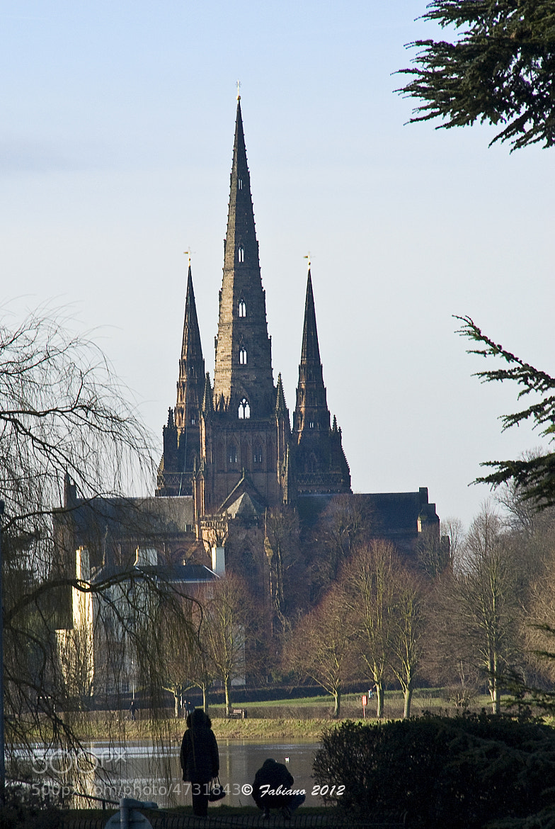 Photograph Lichfield Cathedral by Fabiano Antonio on 500px
