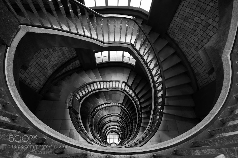 Photograph Thrilling staircase by Till Müller on 500px