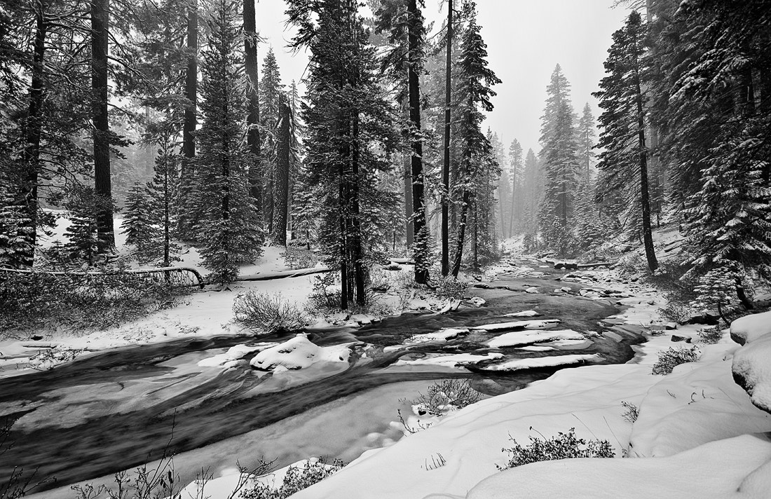 Photograph Snow Creek by Matthew Kuhns on 500px
