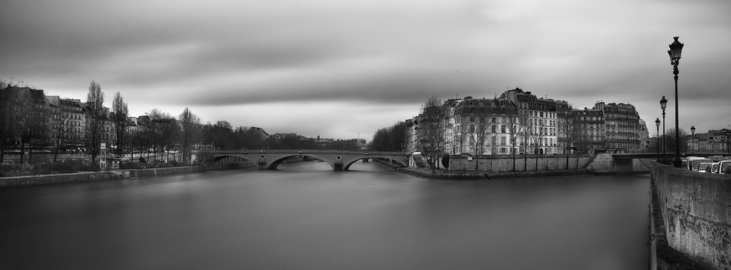 Photograph The Louis-Philippe Bridge and the Saint-Louis Island by Laurent DUFOUR on 500px