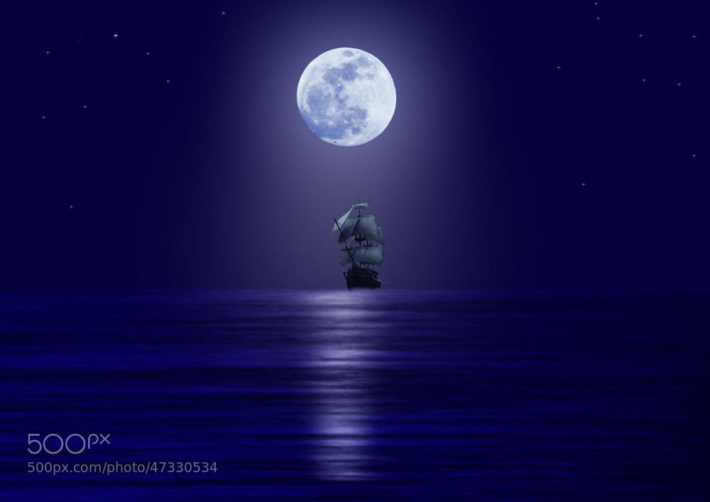 Photograph MOON LIGHT by Maroof Rana on 500px
