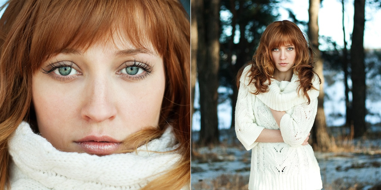 Photograph portrait of a girl with red hair by Tanya Mochalova on 500px