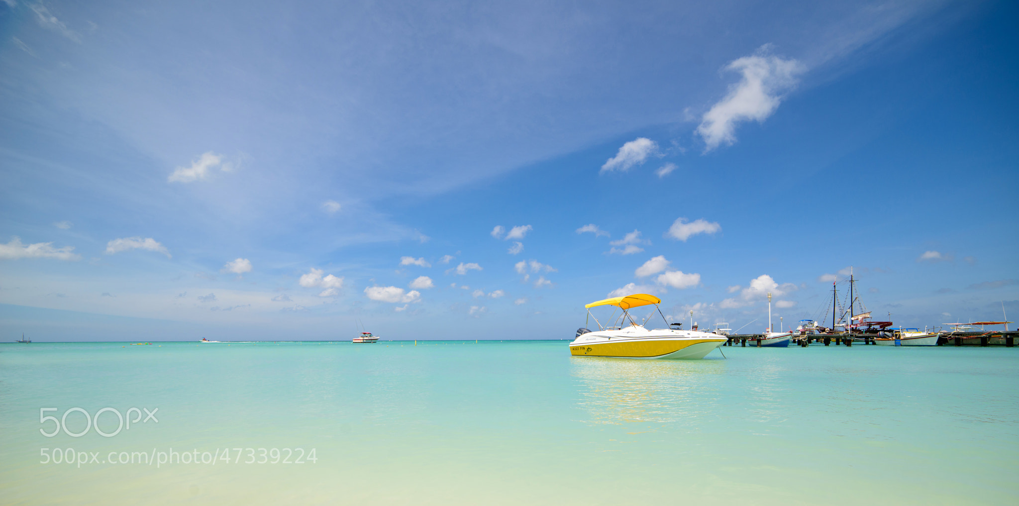 Photograph Aruba: Sports Boat by Sven Bannuscher on 500px