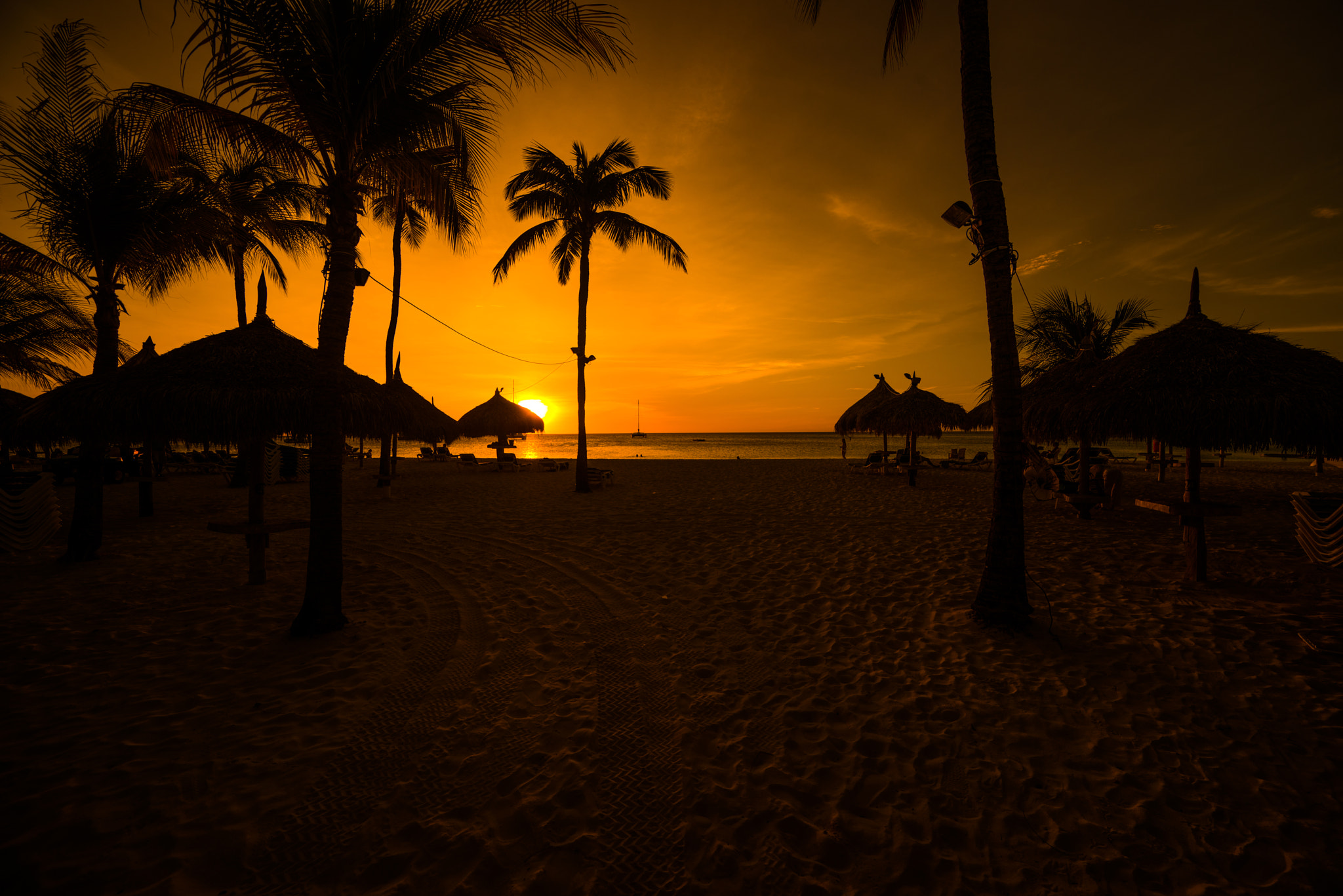 Photograph Aruba: Beach Sunset by Sven Bannuscher on 500px