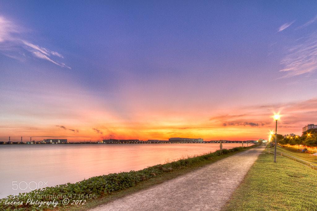 Photograph 2012 first sunset by t e c n i c a on 500px