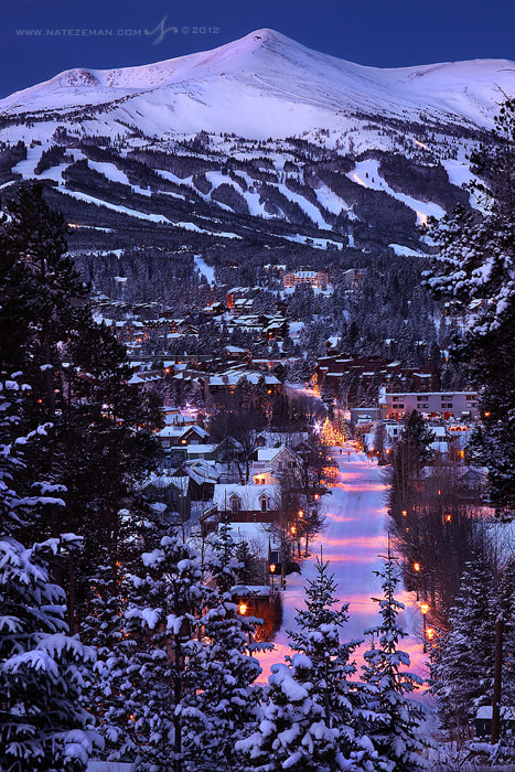 Photograph Breckenridge at Dawn by Nate Zeman | natezeman.com on 500px