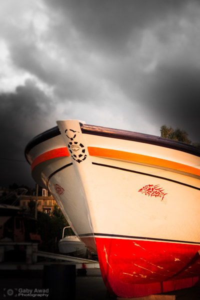 Photograph Docking Boat by Gaby Awad on 500px