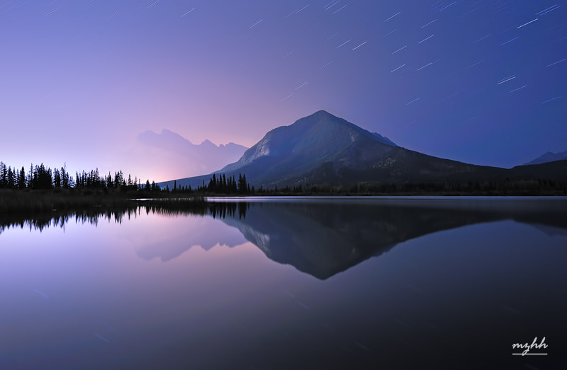 Photograph A Night at Vermilion Lake by zhonghua meng on 500px