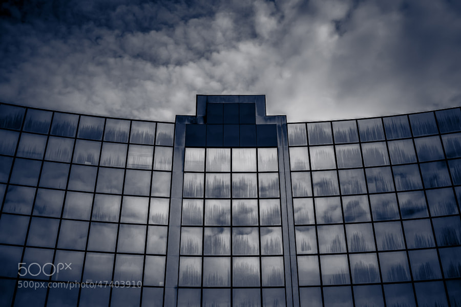 "Archi ""Blue&White"" by David Gorriez on 500px.com"