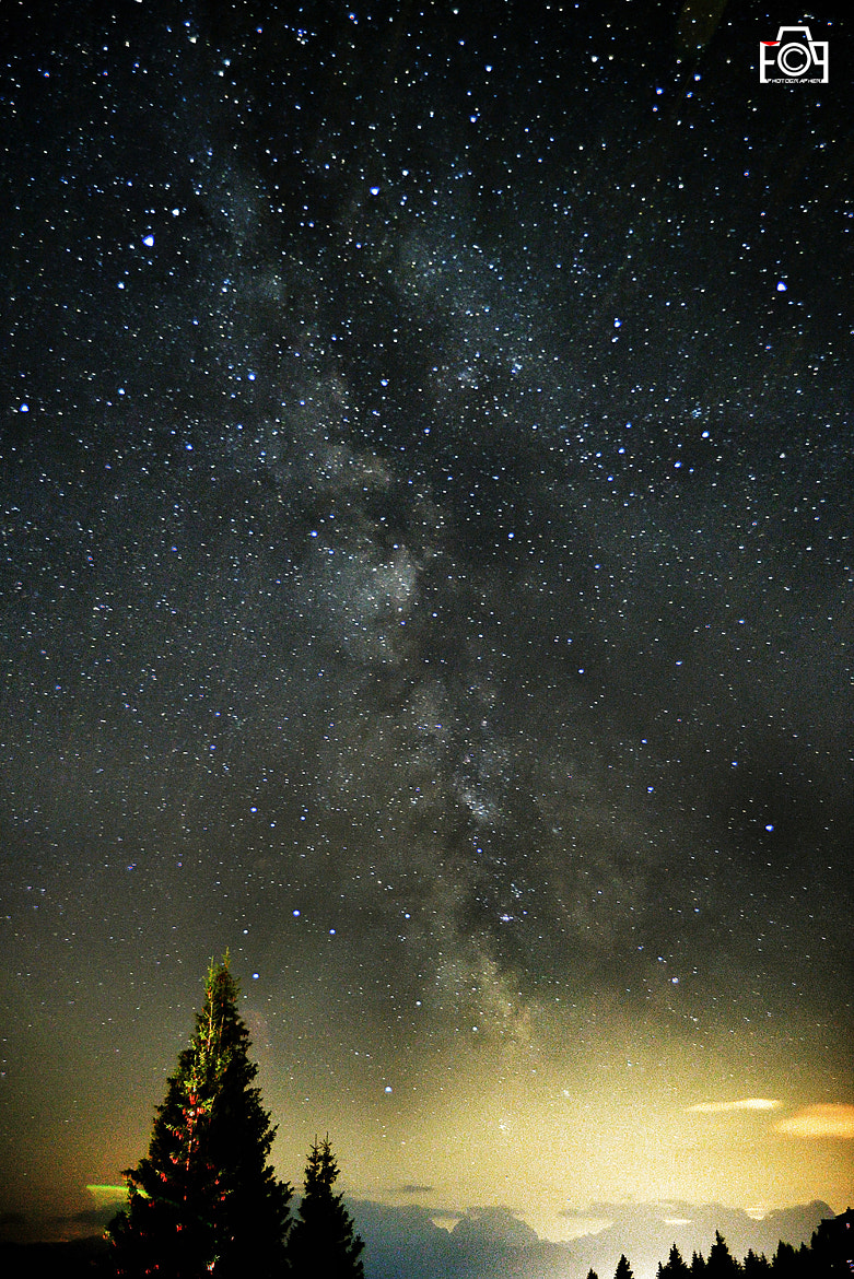 Photograph my first milky way by Fabio Porcelli on 500px