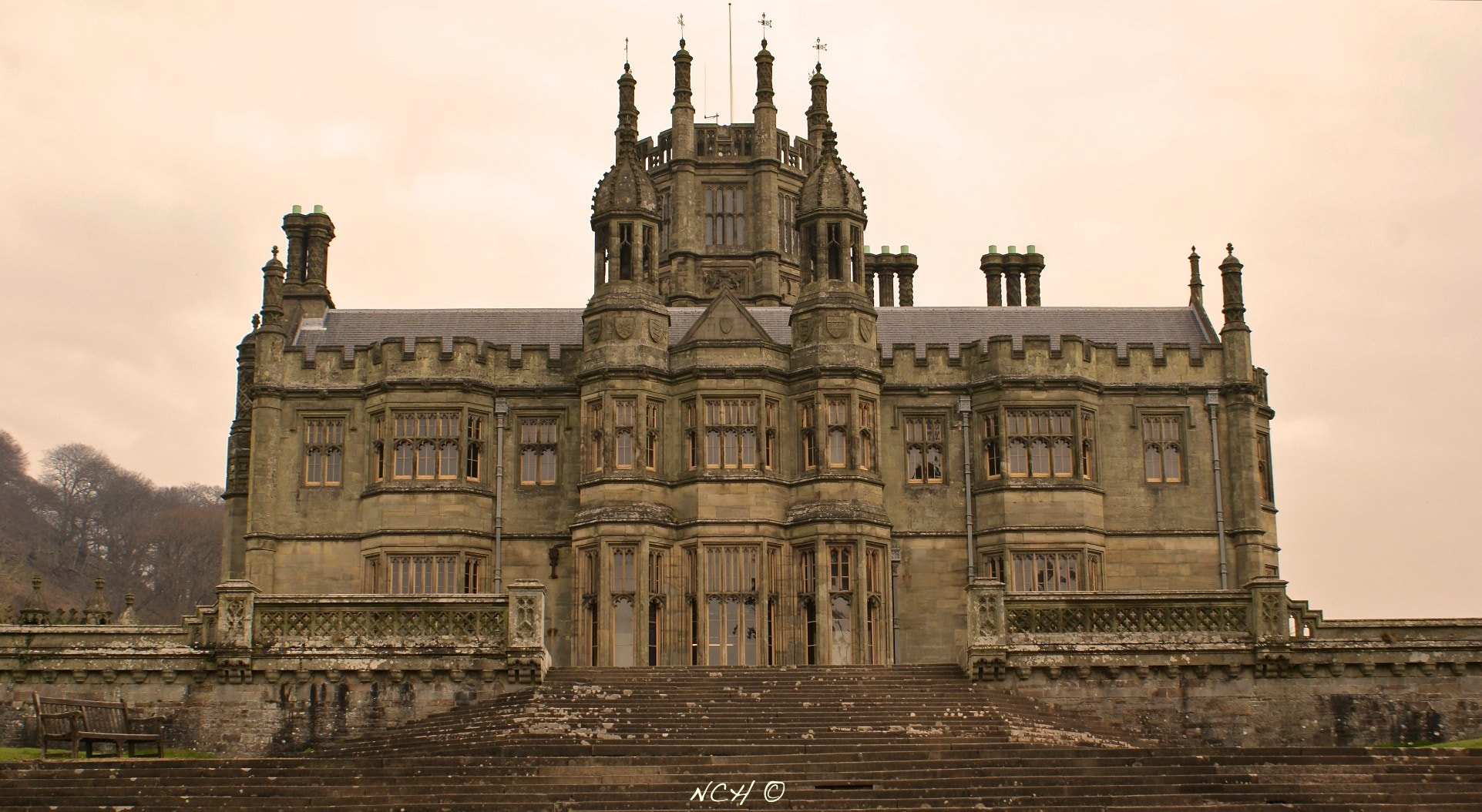 Photograph Margam Castle by Nicholas Harhalakis on 500px