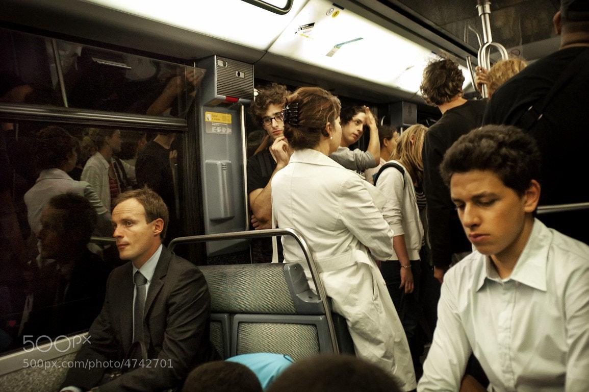 Photograph Metro, Paris by andresgaspar on 500px