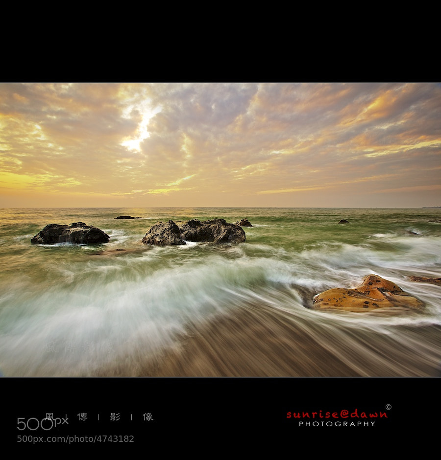 Photograph Fangshan Golden Sunset by Sunrise@dawn 風傳影像 on 500px