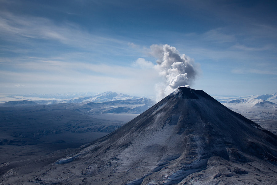 Photograph Kamchatka from air by Денис Будьков on 500px