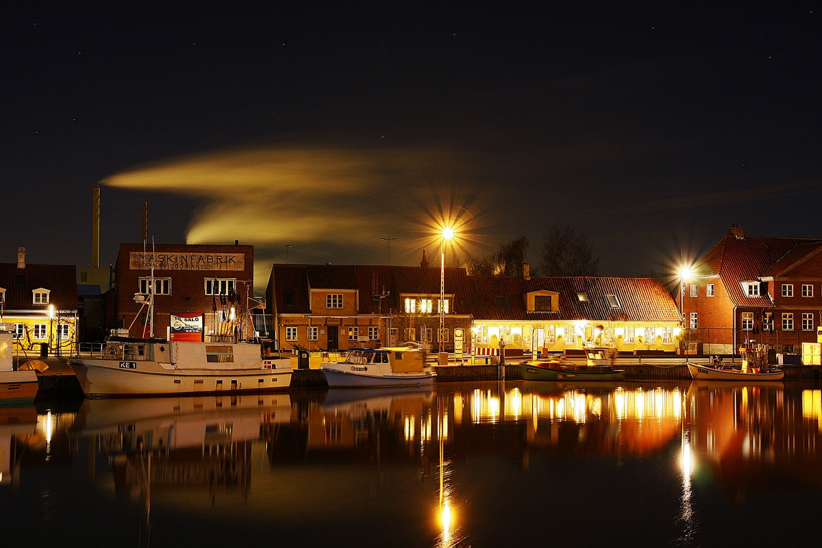 Photograph Harbour at night  by Steen T on 500px