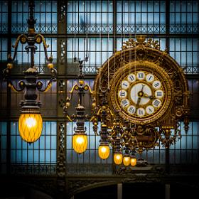 Horloge d'Orsay by Steven Blackmon on 500px.com