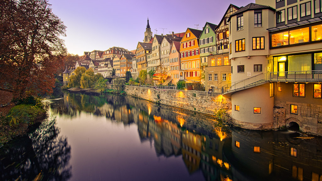 Photograph Tübingen at Dawn by Thomas Hentrich on 500px