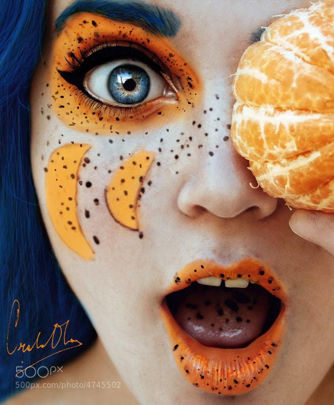 Photograph mandarina. by Cristina  Otero on 500px