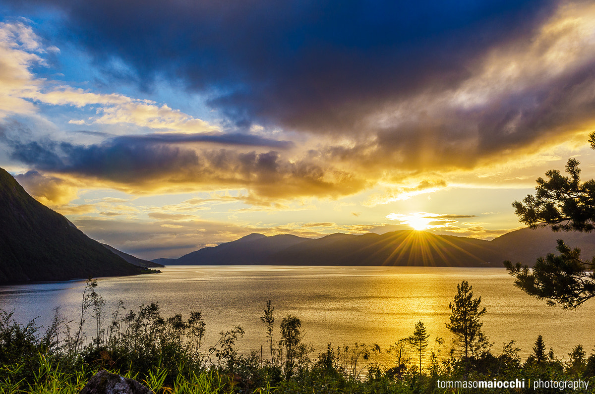 Photograph Sunset in Norway by Tommaso Maiocchi on 500px