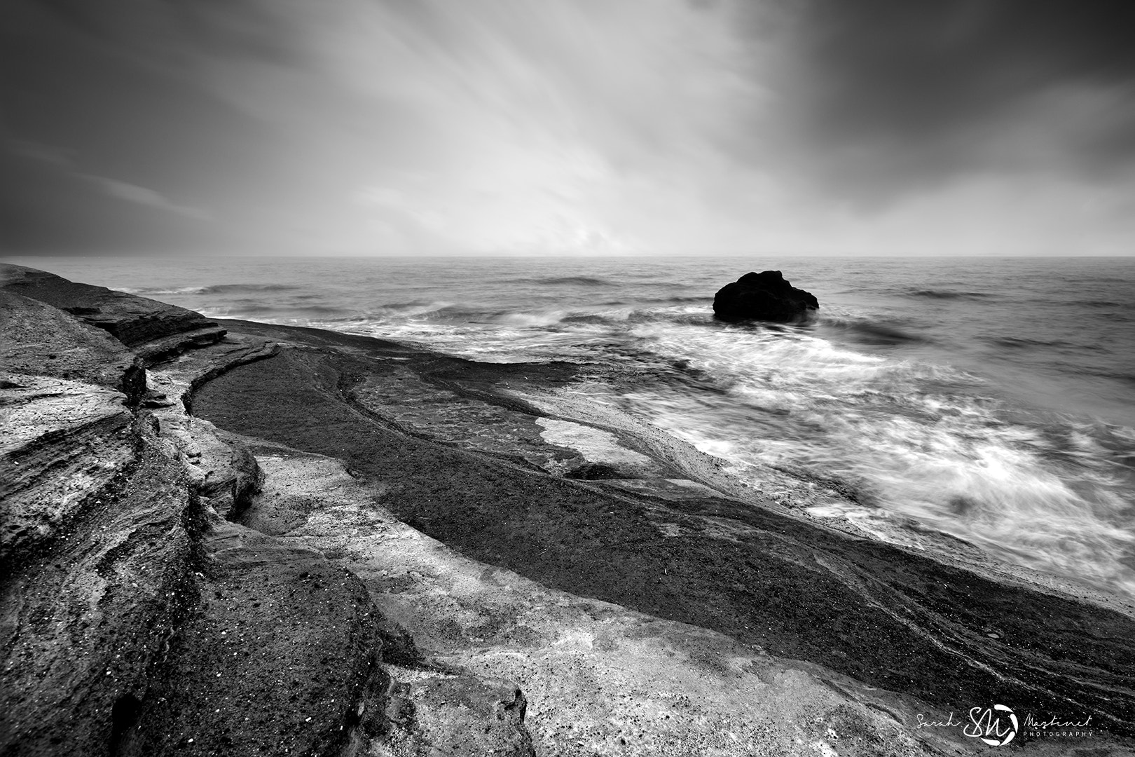 Photograph The Black Rock by Sarah Martinet on 500px