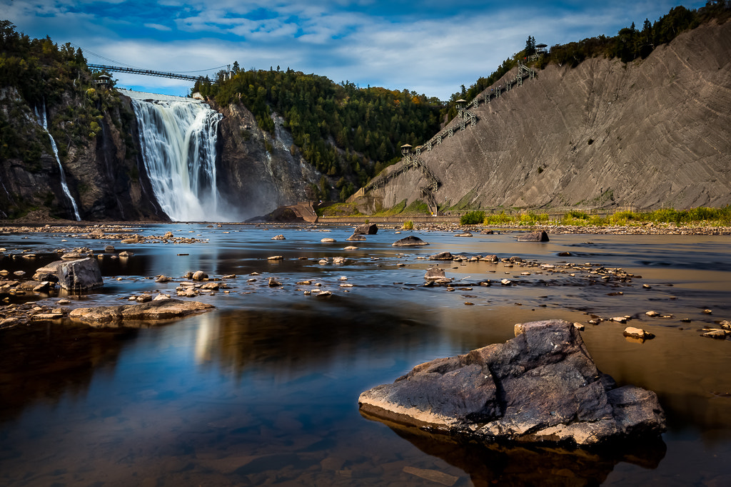 Photograph La chute Montmorency by Mario Cliche on 500px