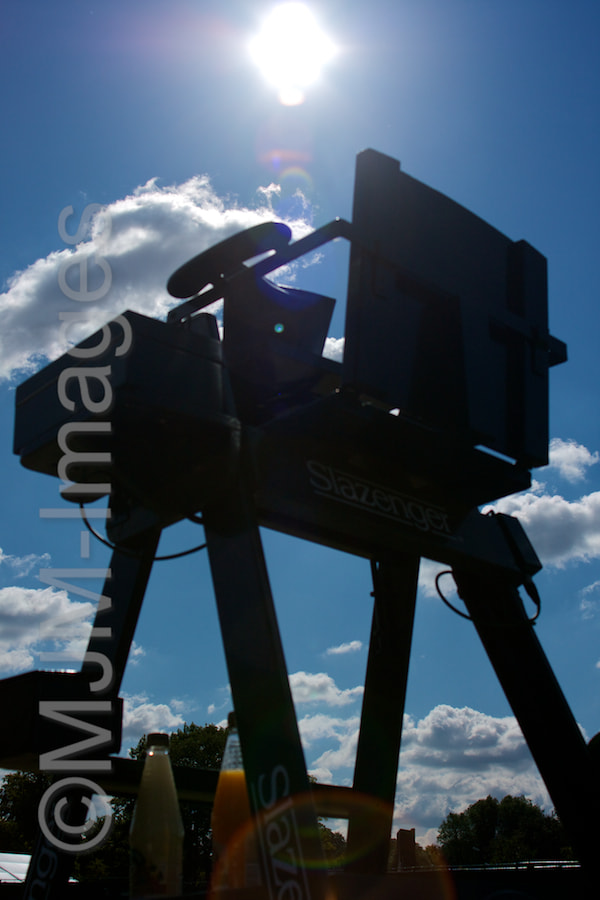 Photograph Umpire's chair by MJM Images on 500px