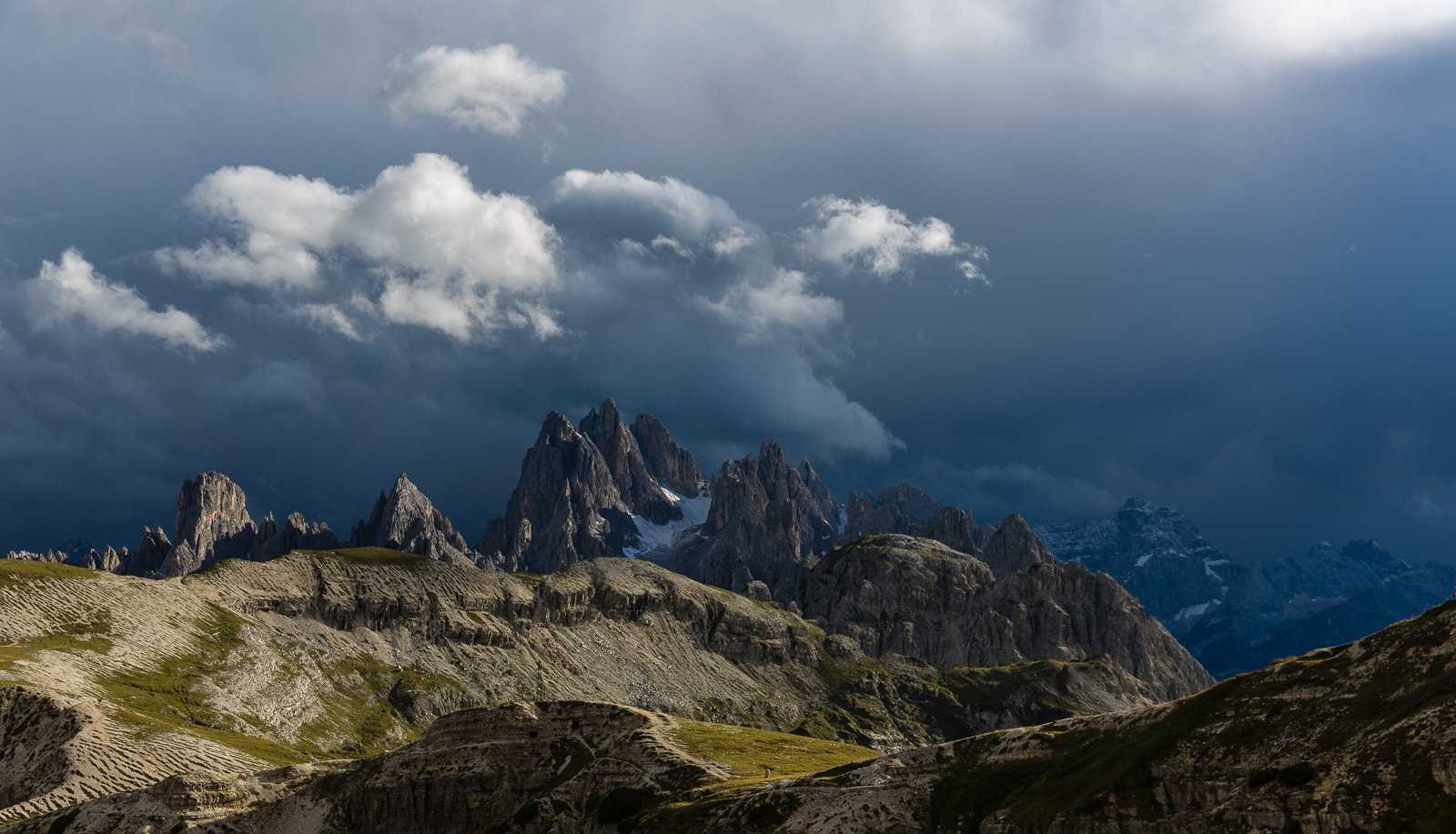 Photograph Afternoon light on mountains at Tre Cime di Lavaredo by Hans Kruse on 500px