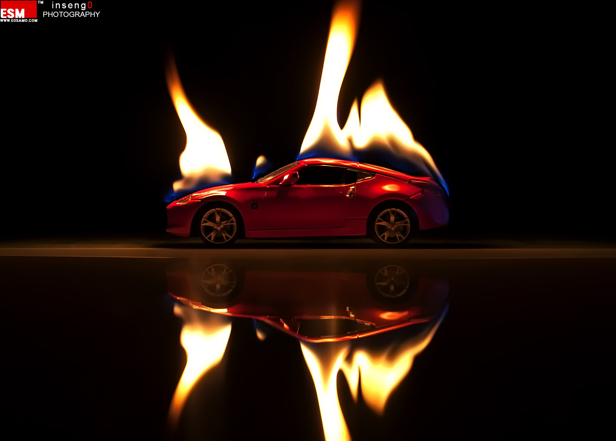 Photograph Fire Car by chan-wook Kim on 500px