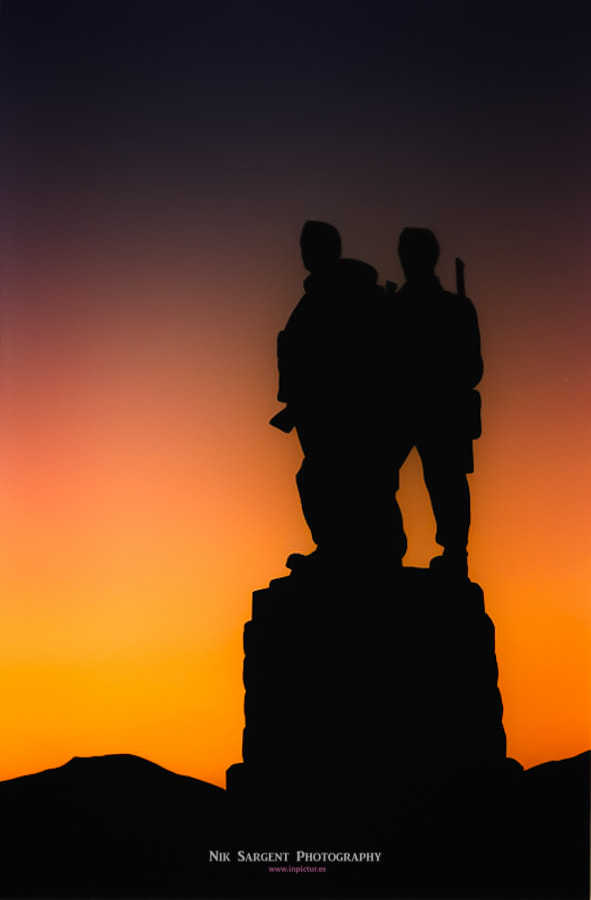 Photograph Commando Memorial by Nik Sargent on 500px