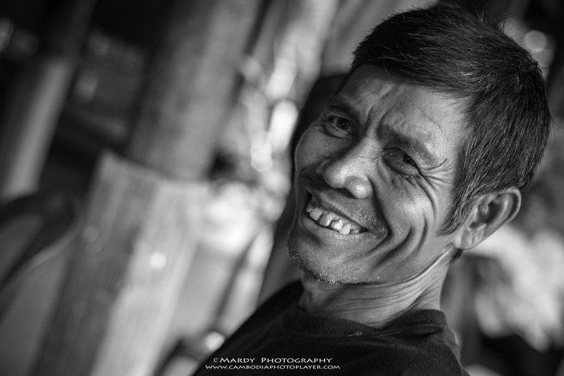 Photograph Mr. Dol (Khmer Smiling) by Mardy Suong Photography on 500px