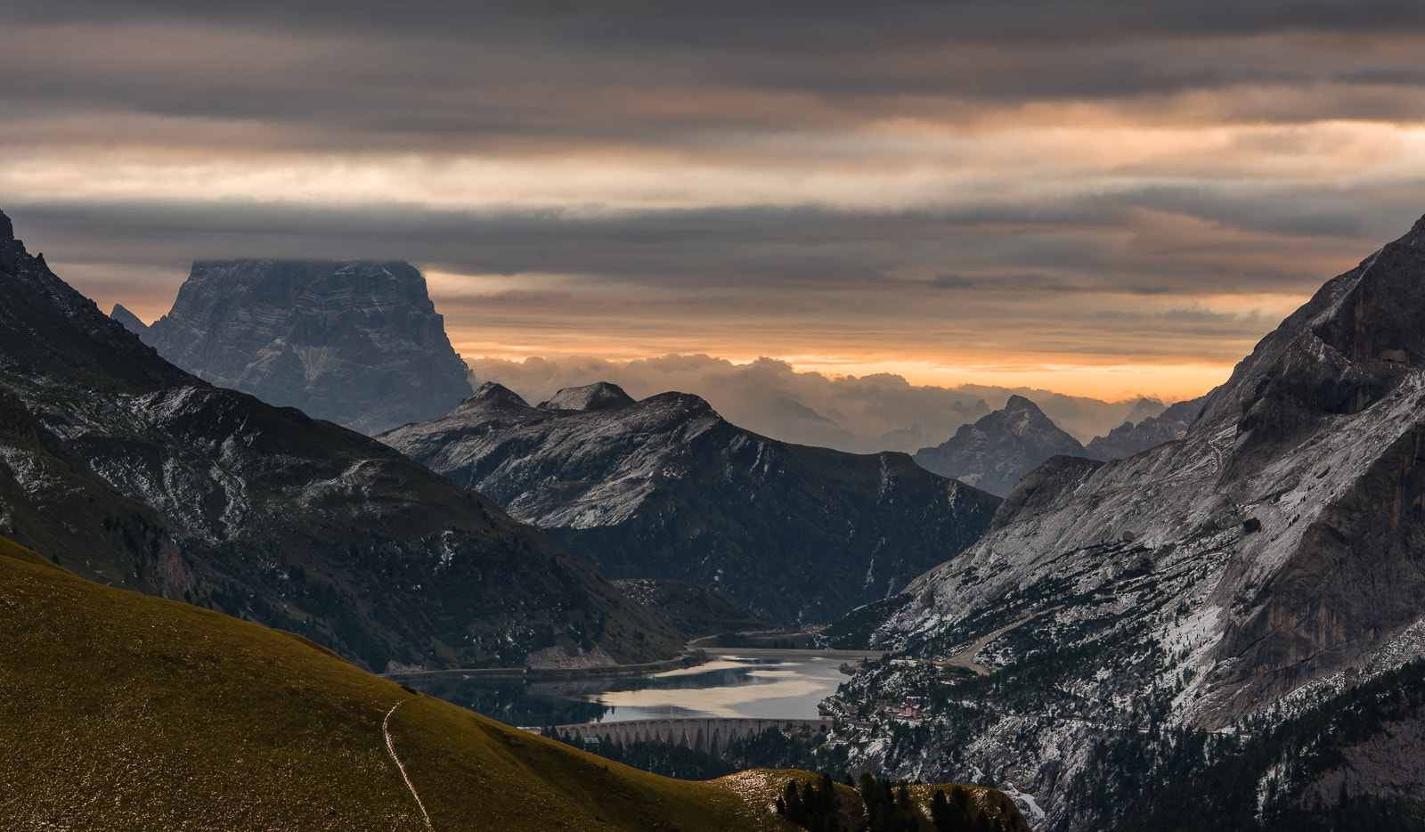 Photograph Morning light at Passo Fedaia by Hans Kruse on 500px
