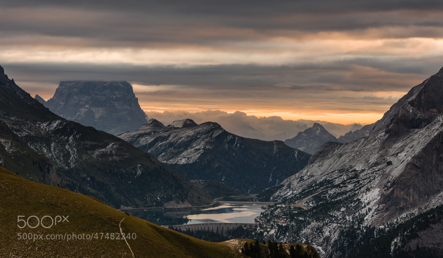 This photo was shot during the PODAS September 2013 workshop in the Dolomites.