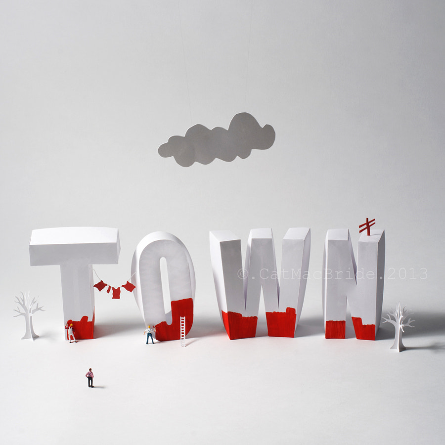 Painting the town red! by Catherine MacBride on 500px.com