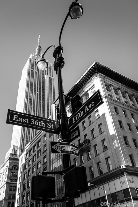 Photograph East 36th St-Fifth Ave by David Juan on 500px