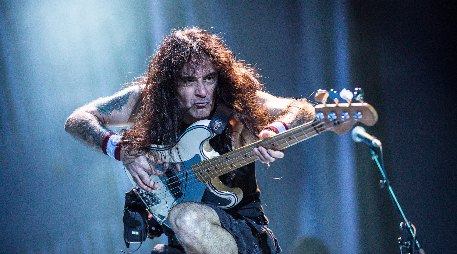 steve harris technique