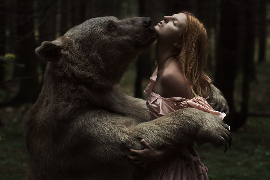 Photograph Beauty and the bear by Alexandra Truhacheva on 500px
