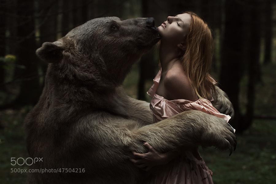 Photograph Beauty and the bear by Alexandra Truhacheva on 500px
