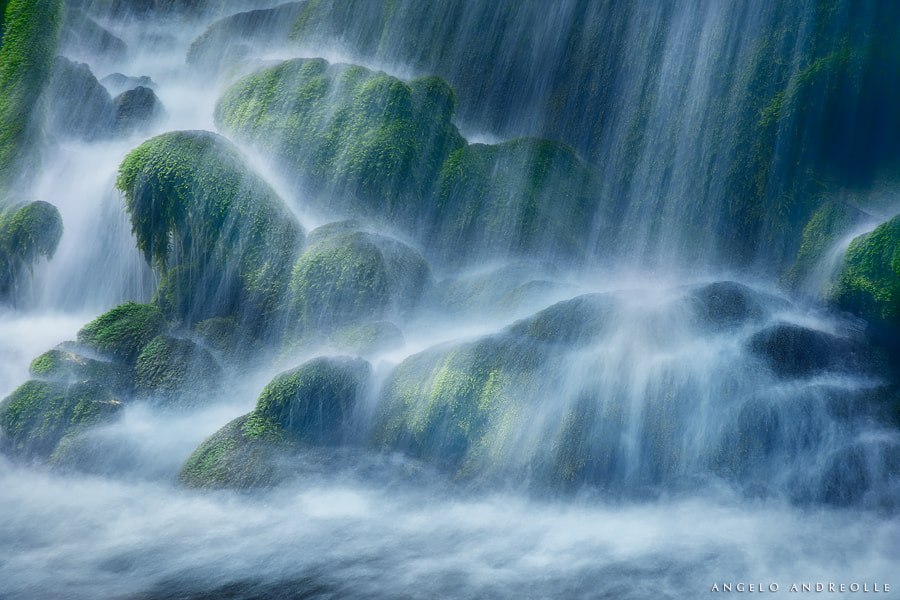 Photograph Waterfall Detail by Angelo Andreolle on 500px