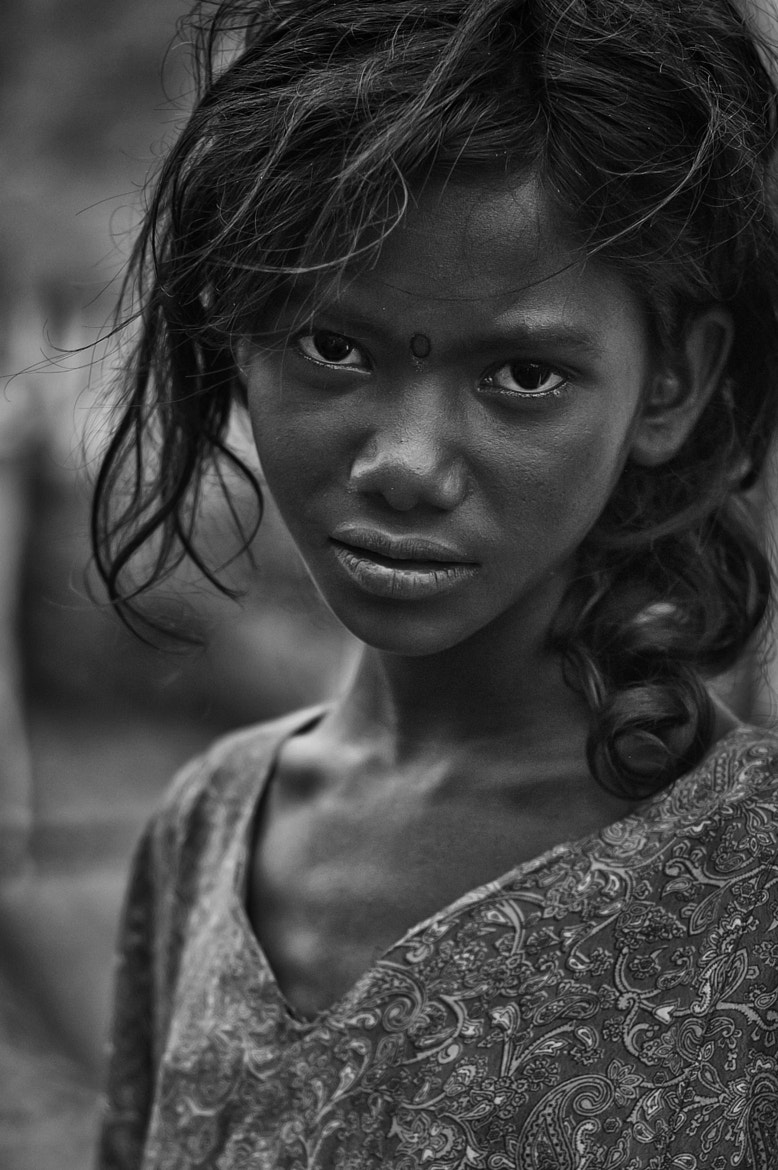 Photograph The Girl from Ramanagaram  by Anoop Negi on 500px