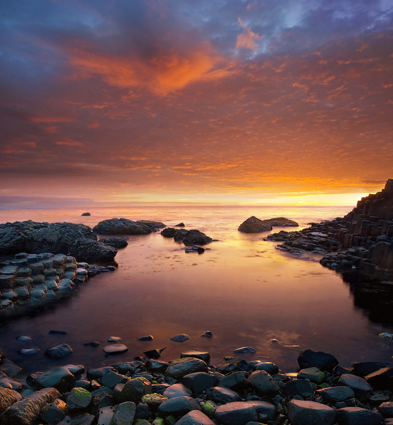 Photograph Giant's Causeway late show by Lukasz Maksymiuk on 500px