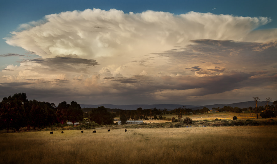 Photograph Storm Valley by Nathan Kaso on 500px