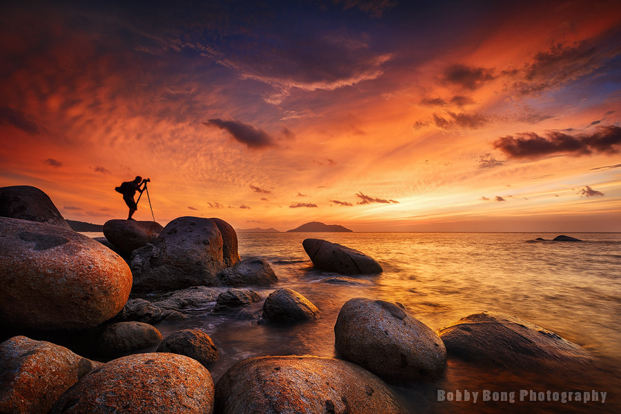 Photograph Burning Cloud by Bobby Bong on 500px