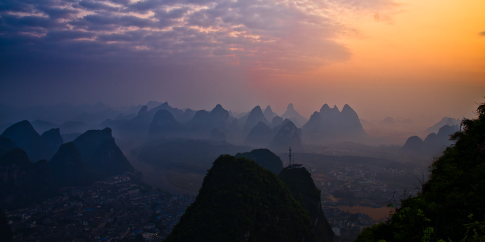 Photograph Yangshuo Sunrise by Chris Jones on 500px