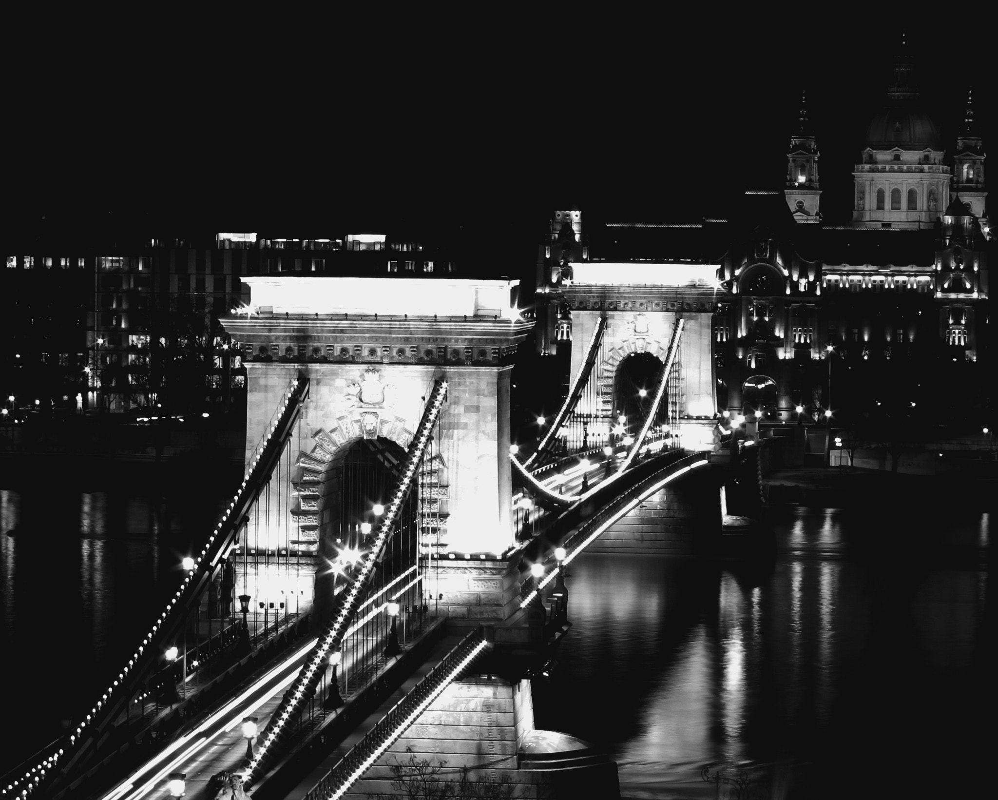 Photograph Chain bridge II - Budapest by Just for fun on 500px