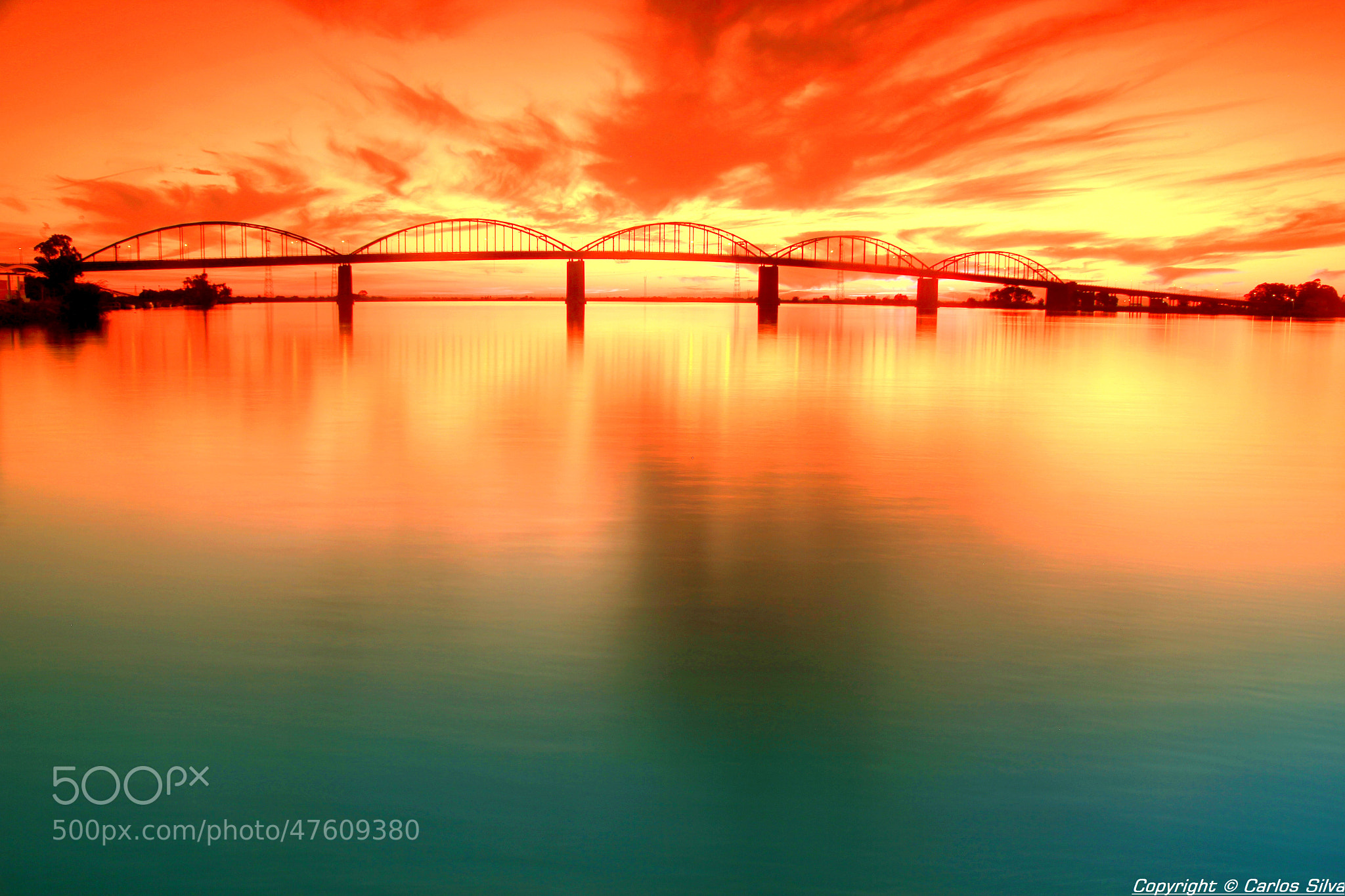 Photograph Red Sky by Carlos Silva on 500px
