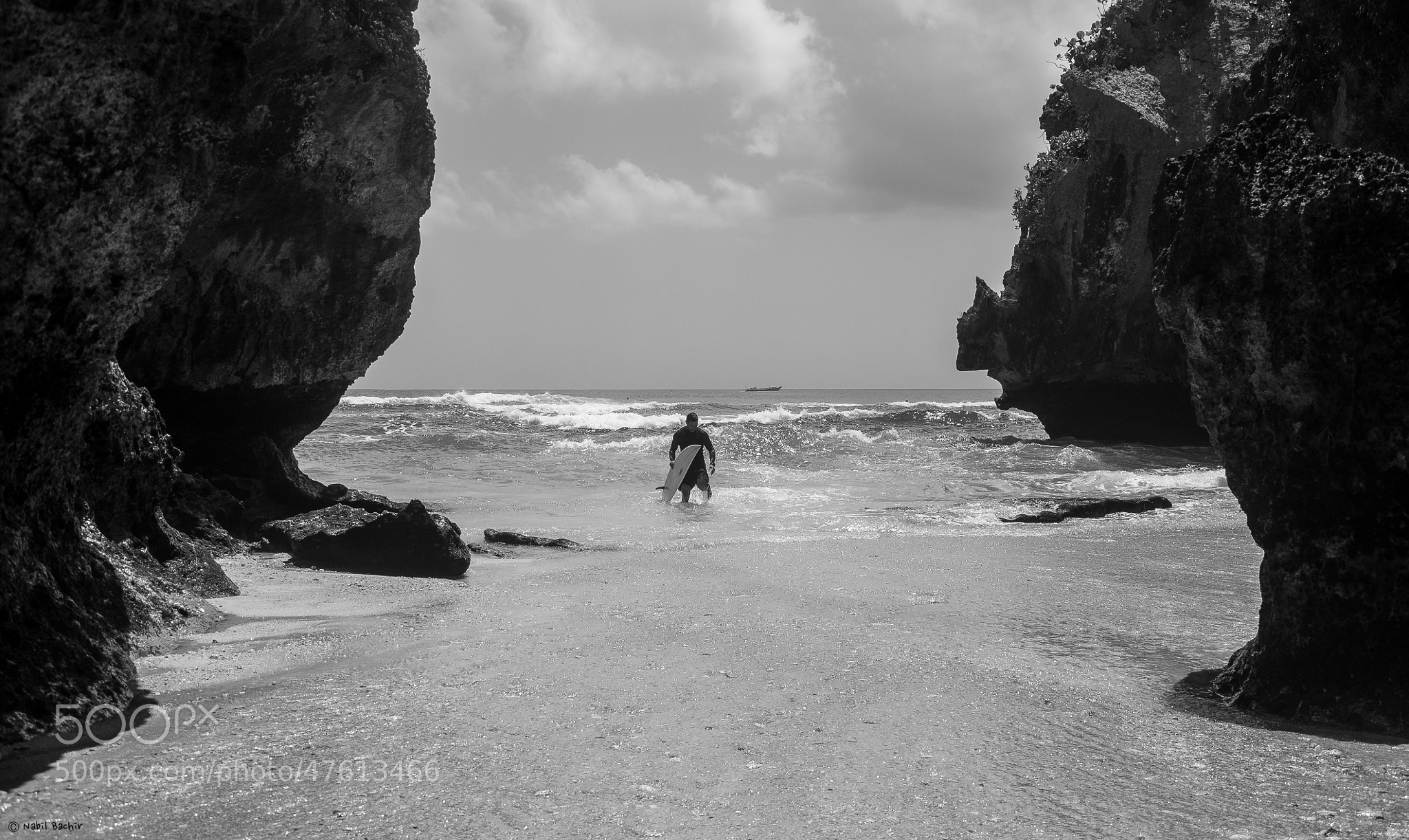 Photograph Surfing Alone by Nabil BACHIR-CHERIF on 500px