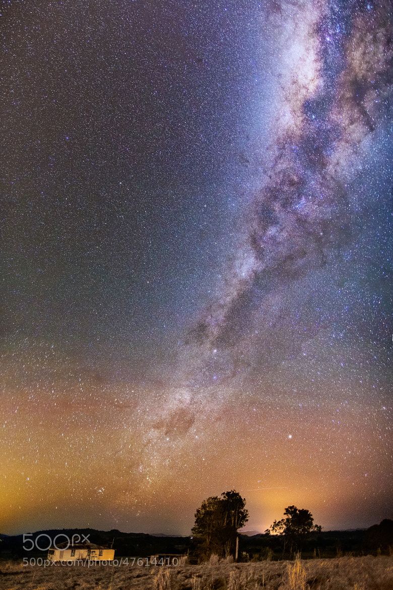 Photograph Mary Valley Milky Way by Matthew Post on 500px