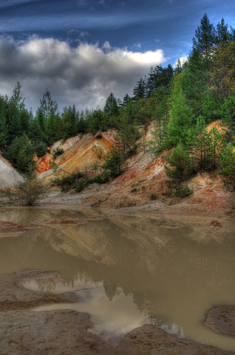 Photograph Sand quarry by Petr Skoupý on 500px