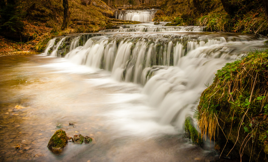 Isn't this cascade charming? by Steve Walesch on 500px.com