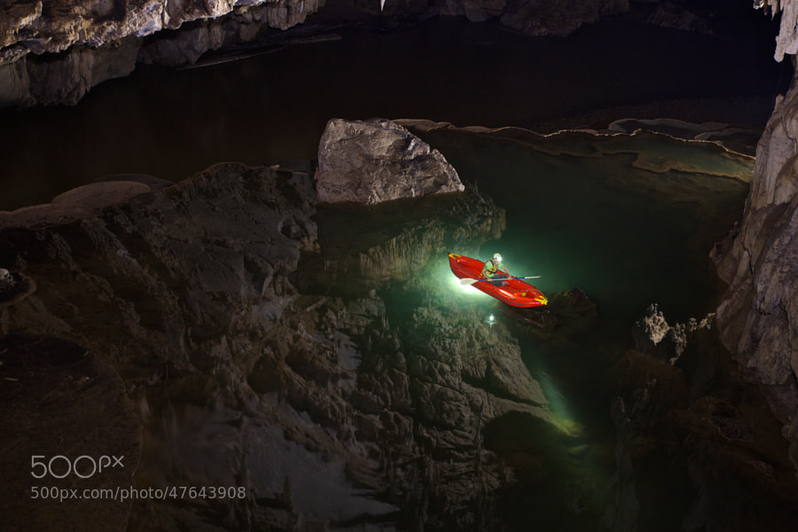 Photograph Cave reflection by john spies on 500px